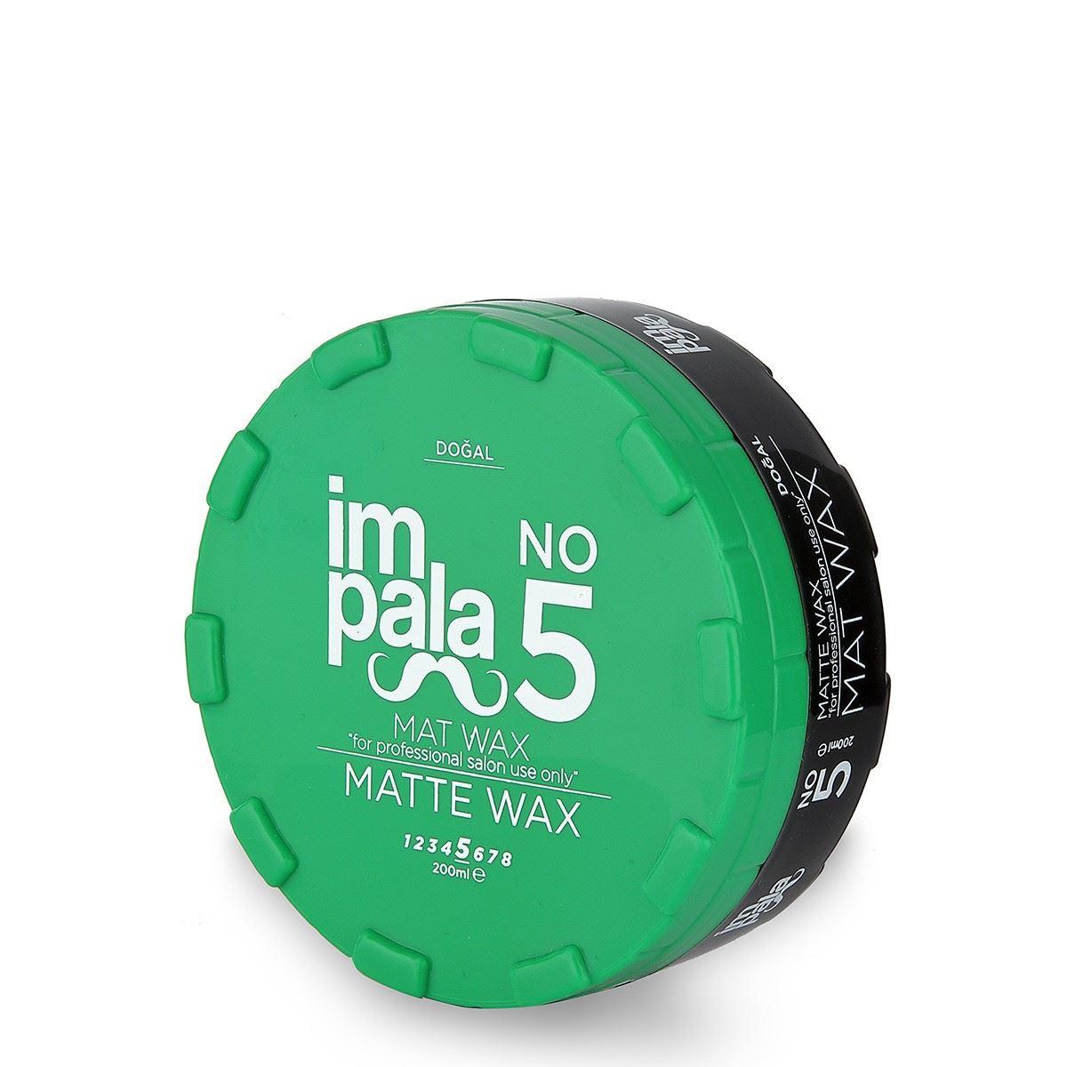 Impala Wax No:5 Mat 200 ml.