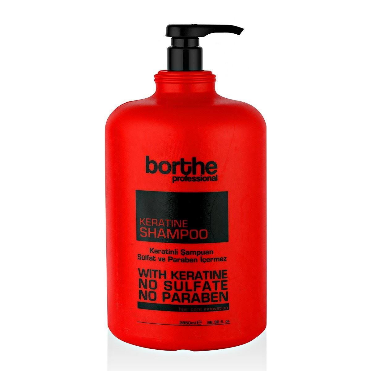 Borthe Şampuan Keratin 2850 ml.