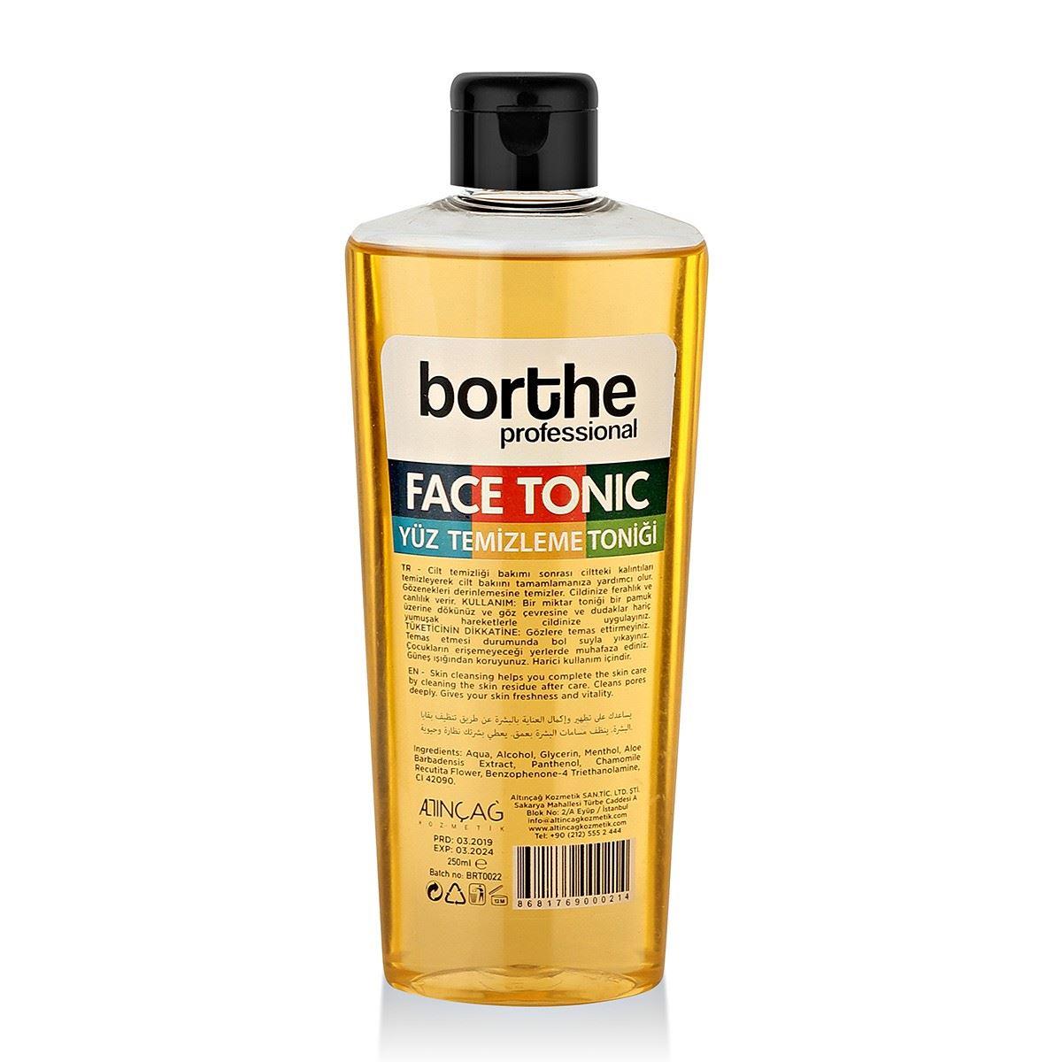 Borthe Sarı Yüz Toniği 250 ml.