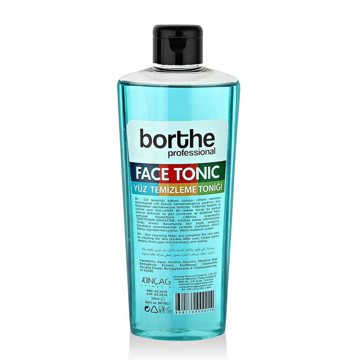 Borthe Mavi Yüz Toniği 250 ml.