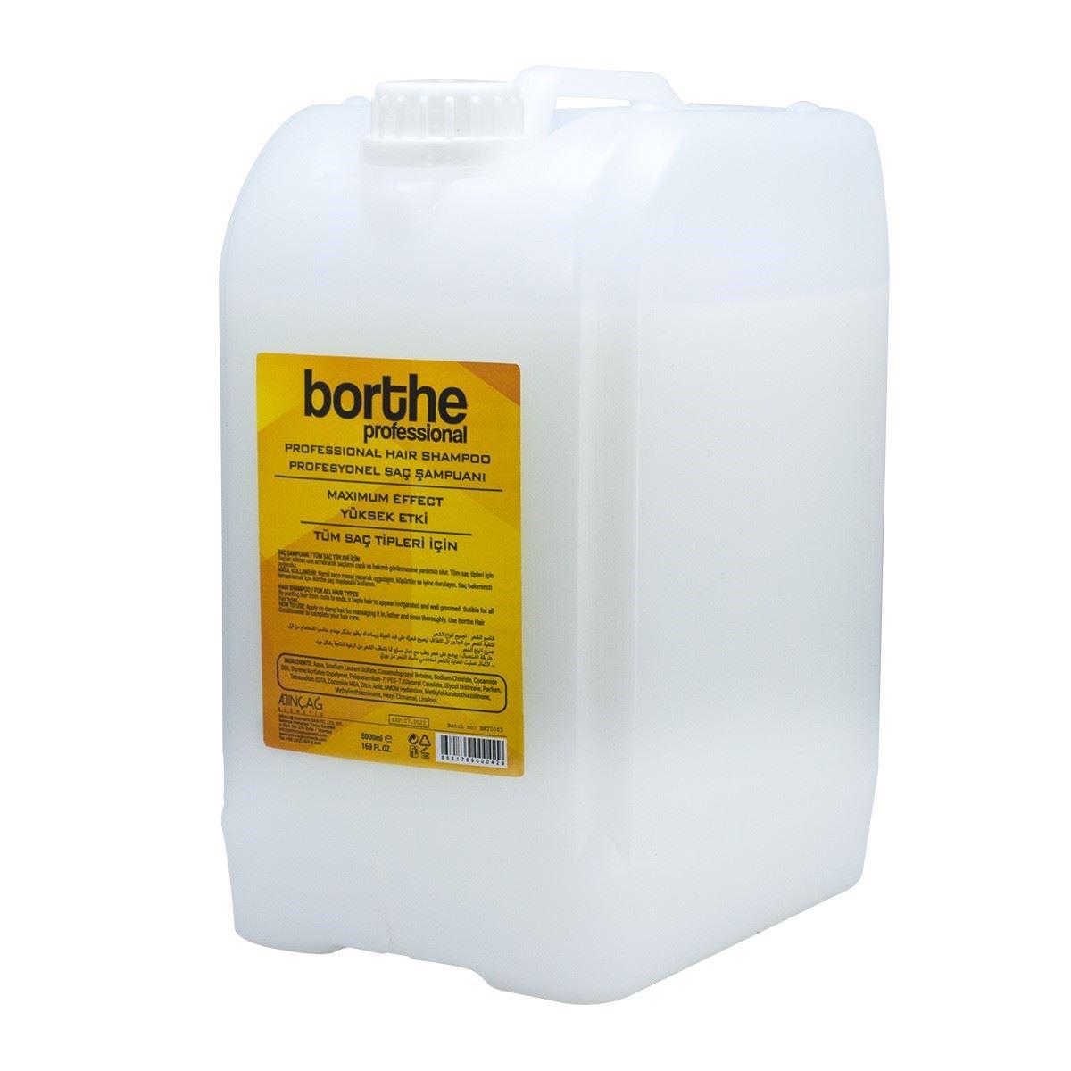 Borthe Professional Şampuan 5000 ml.
