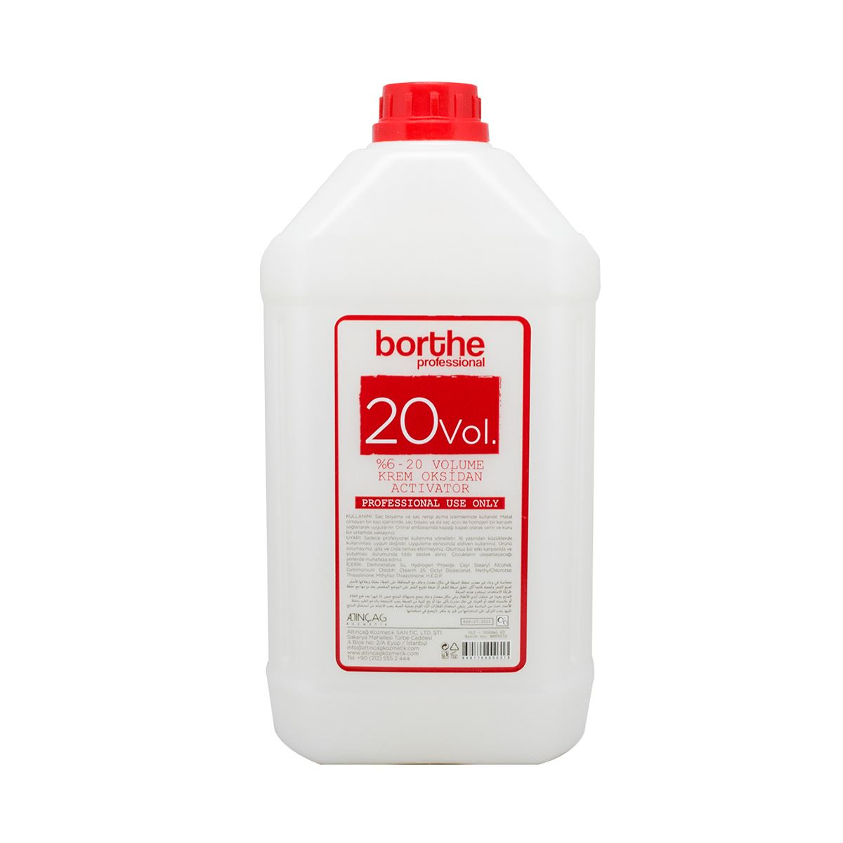 Borthe Oksidan 5000 ml.