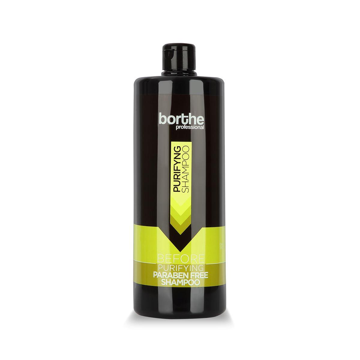 Borthe Paraben Free Before Shampoo 1100 ml.