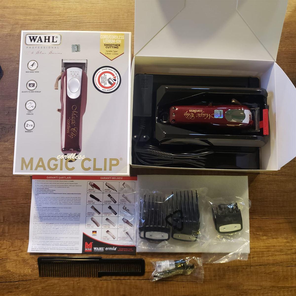 Wahl  Magic Clip Cordless 08148-016 Saç Kesme Makinesi