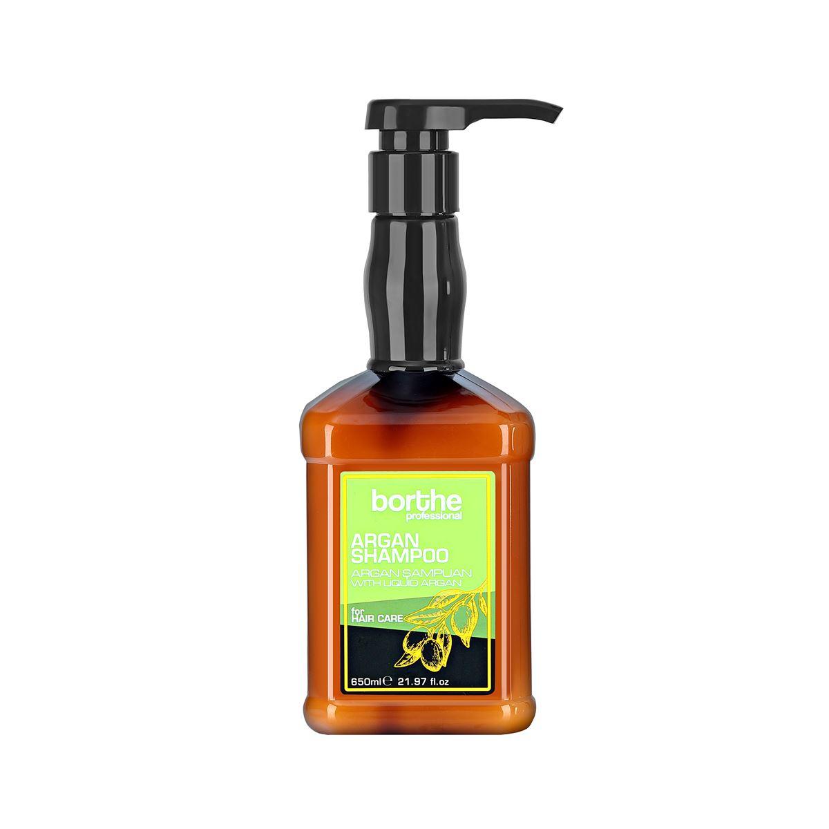 Borthe Argan Shampoo 650 ml.