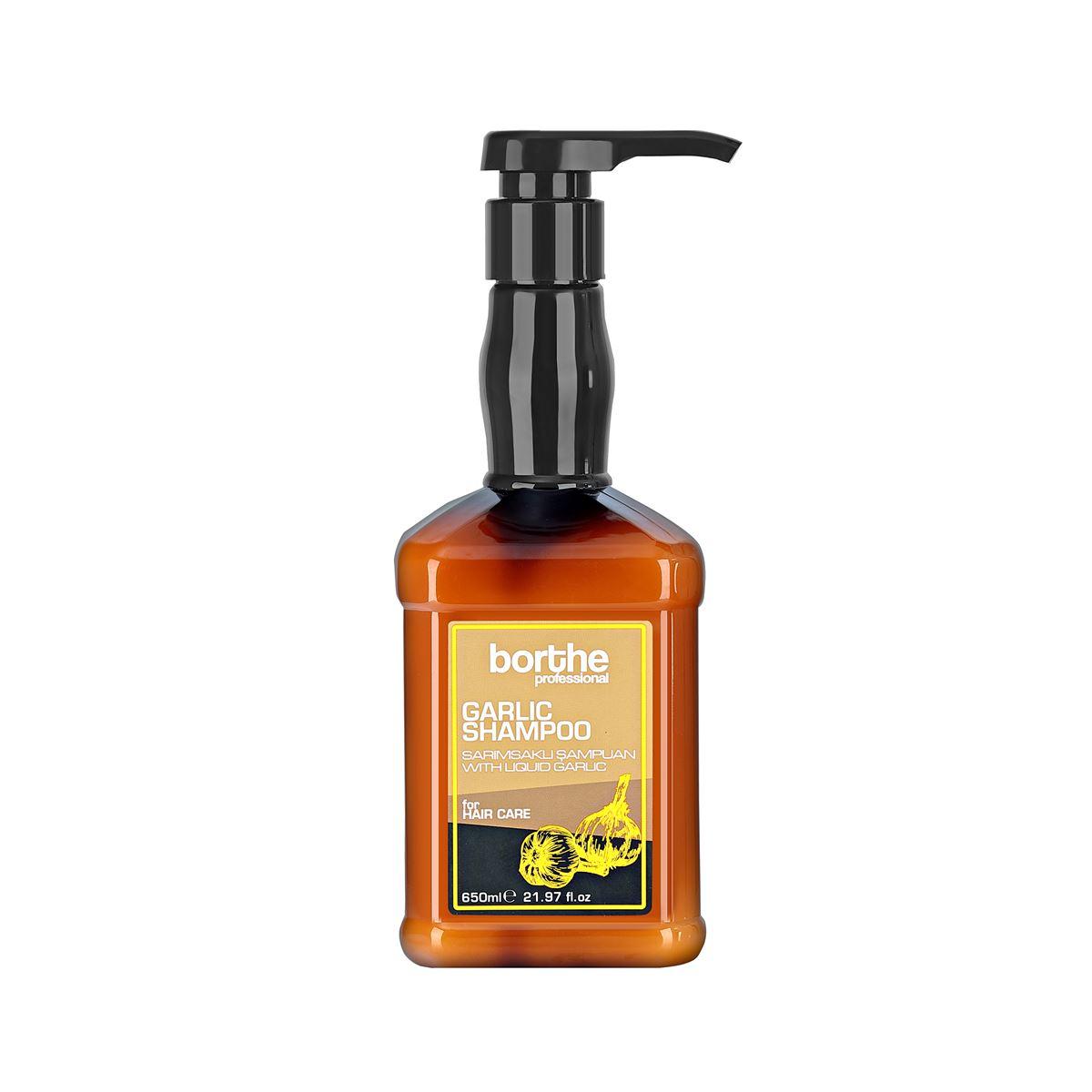 Borthe Garlic Shampoo 650 ml.