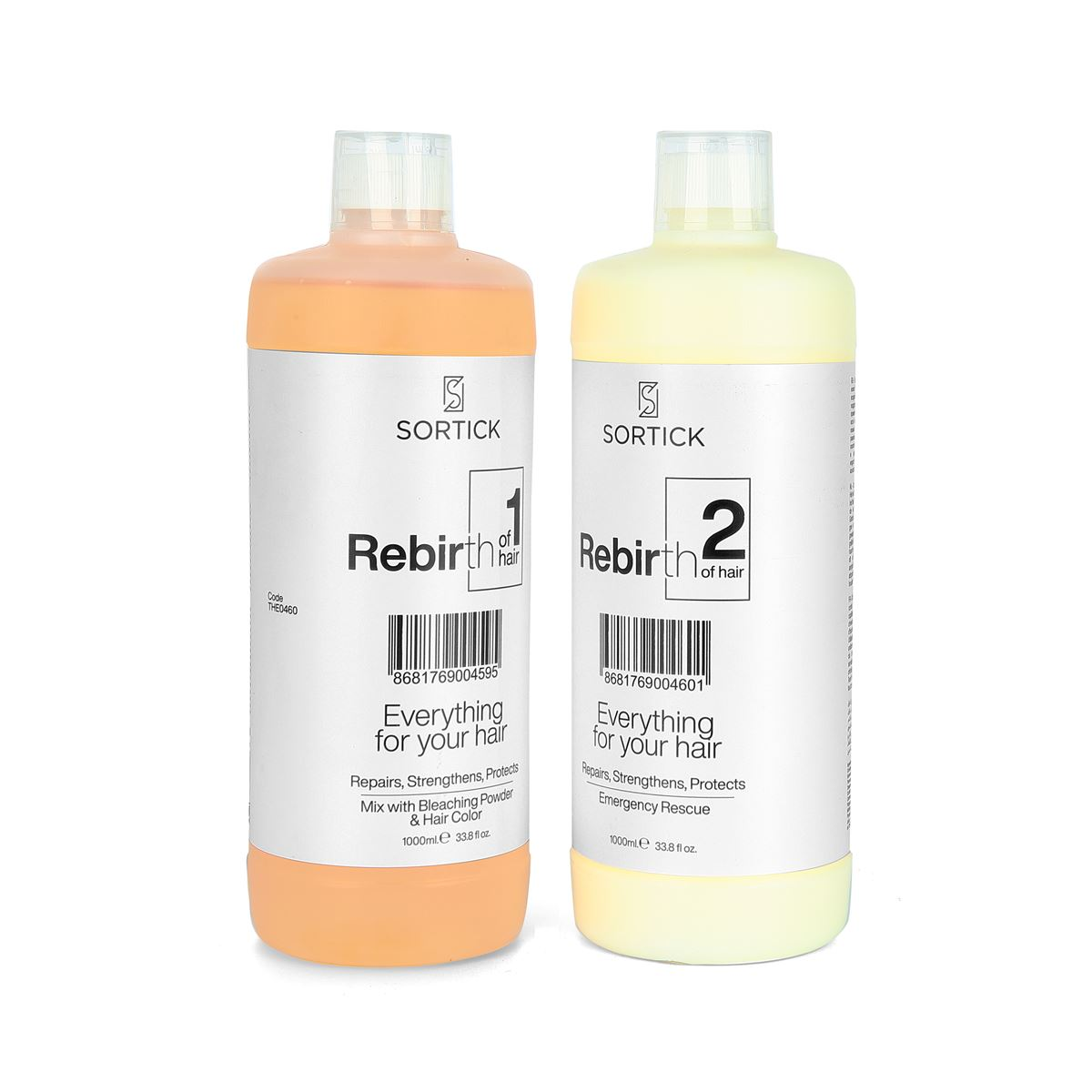 Sortick Rebirth 2'li Set (1 Adet 1000 ml. Rebirth No:1, 1 Adet 1000 ml. Rebirth No:2 )